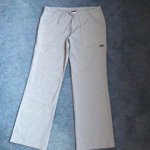 Patagonia Hiking Drawstring Pants Size 4 Gray